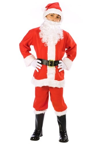 Click Here to buy Kids Santa Suit  Costume from HalloweenCostumes, CDN Funds & Shipping