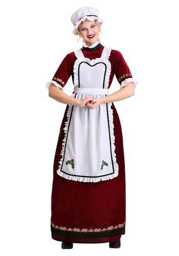 Mrs. Claus Costume Holiday