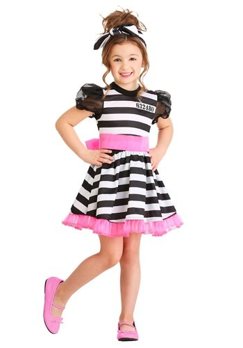 Click Here to buy Glam Prisoner Toddler Costume from HalloweenCostumes, CDN Funds & Shipping