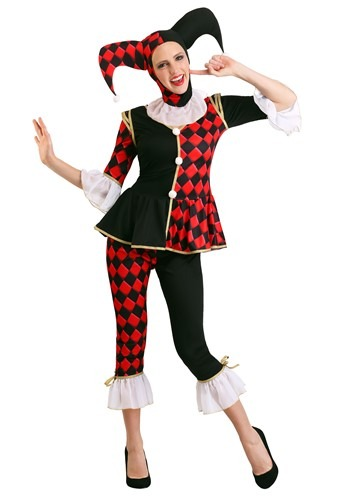 Click Here to buy Regal Harlequin Womens Costume Plus Size from HalloweenCostumes, CDN Funds & Shipping