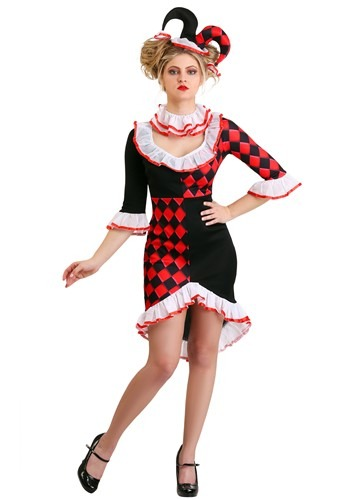 Click Here to buy Haute Harlequin Womens Costume from HalloweenCostumes, CDN Funds & Shipping