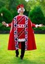 Men's King of Hearts Costume Alt 2