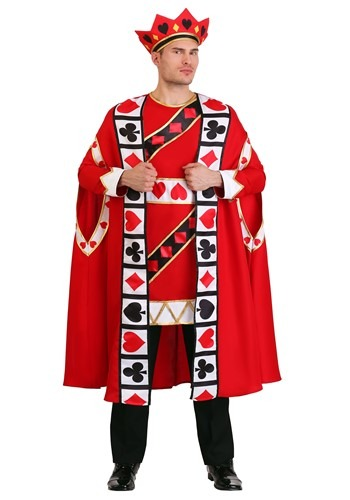 Click Here to buy King of Hearts Mens Costume from HalloweenCostumes, CDN Funds & Shipping