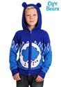 Child Care Bears Grumpy Bear Zip Up Knit Sweater alt5