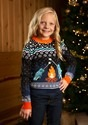 Narwhal Child Ugly Christmas Sweater Alt
