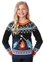 Narwhal Child Ugly Christmas Sweater Alt 2