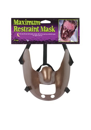 Click Here to buy Maximum Restraint Mask from HalloweenCostumes, CDN Funds & Shipping