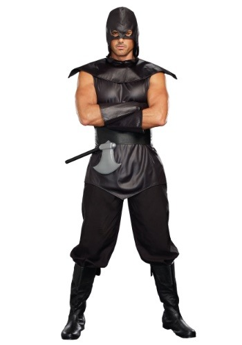 Click Here to buy Sexy Executioner Plus Size Mens Costume from HalloweenCostumes, CDN Funds & Shipping
