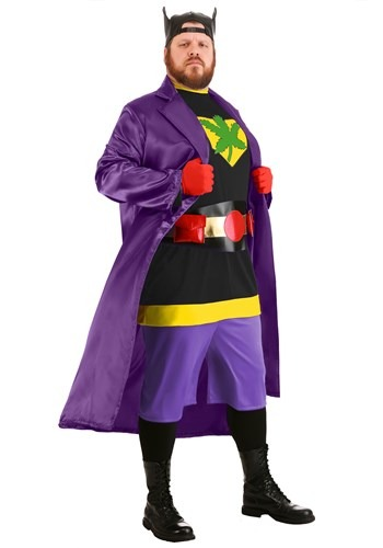 Adult Bluntman Costume Plus Size