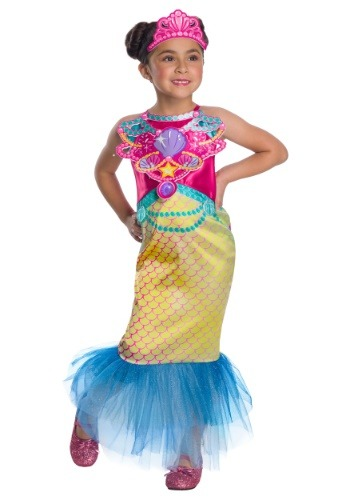 Click Here to buy Barbie Mermaid Girls Costume from HalloweenCostumes, CDN Funds & Shipping