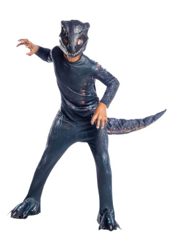 Click Here to buy Jurassic World: Fallen Kingdom Indoraptor Dinosaur Kids Costume from HalloweenCostumes, CDN Funds & Shipping