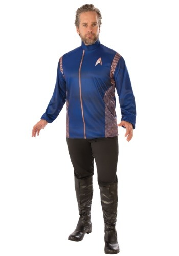 Click Here to buy Star Trek Discovery Operations Uniform Adult Costume from HalloweenCostumes, CDN Funds & Shipping