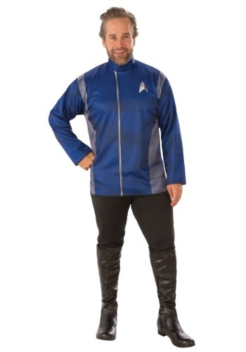 Click Here to buy Star Trek Discovery Science Uniform Costume for an Adult from HalloweenCostumes, CDN Funds & Shipping