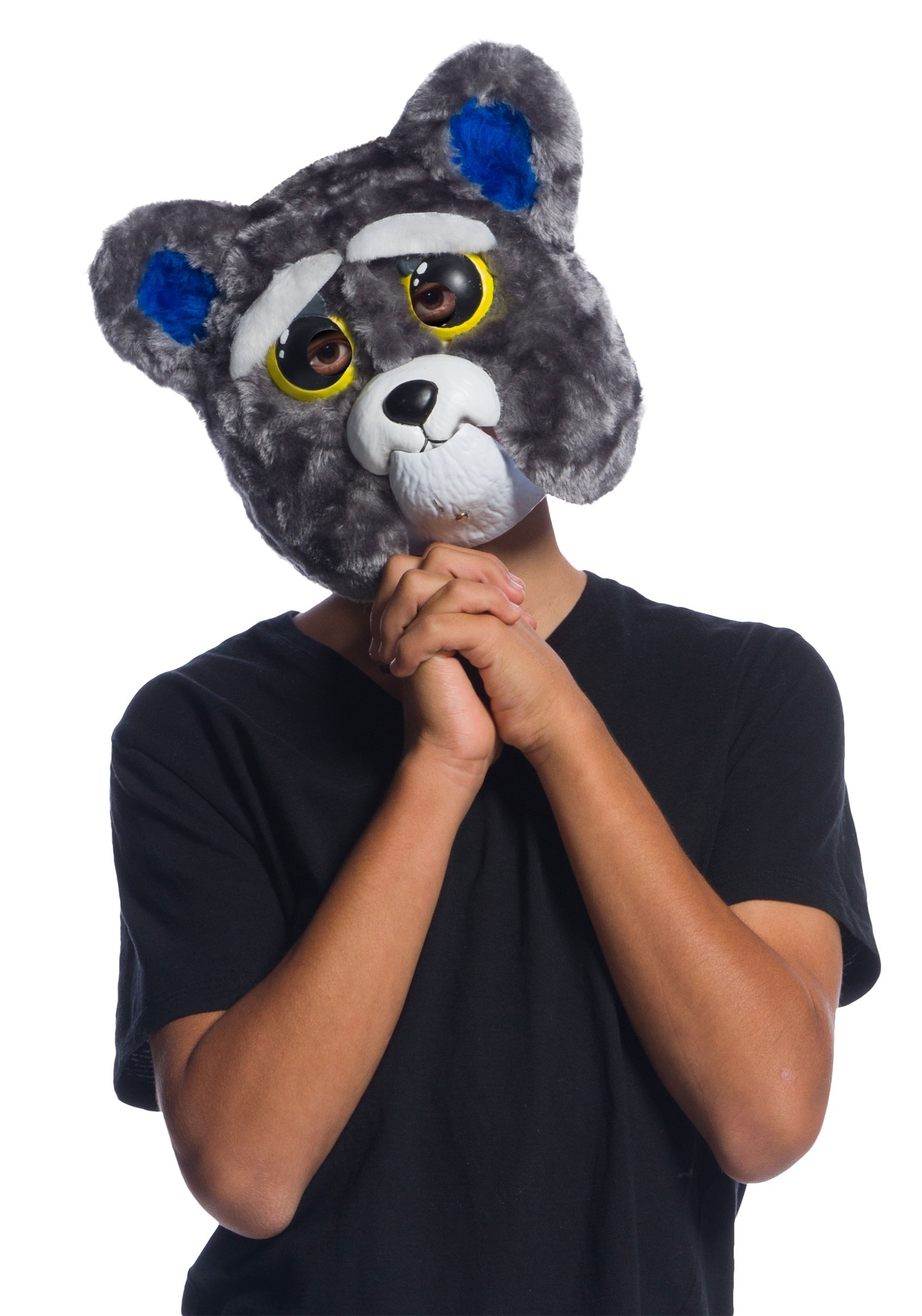 INOpets.com Anything for Pets Parents & Their Pets Feisty Pets Sammy Suckerpunch Moveable Child Mask