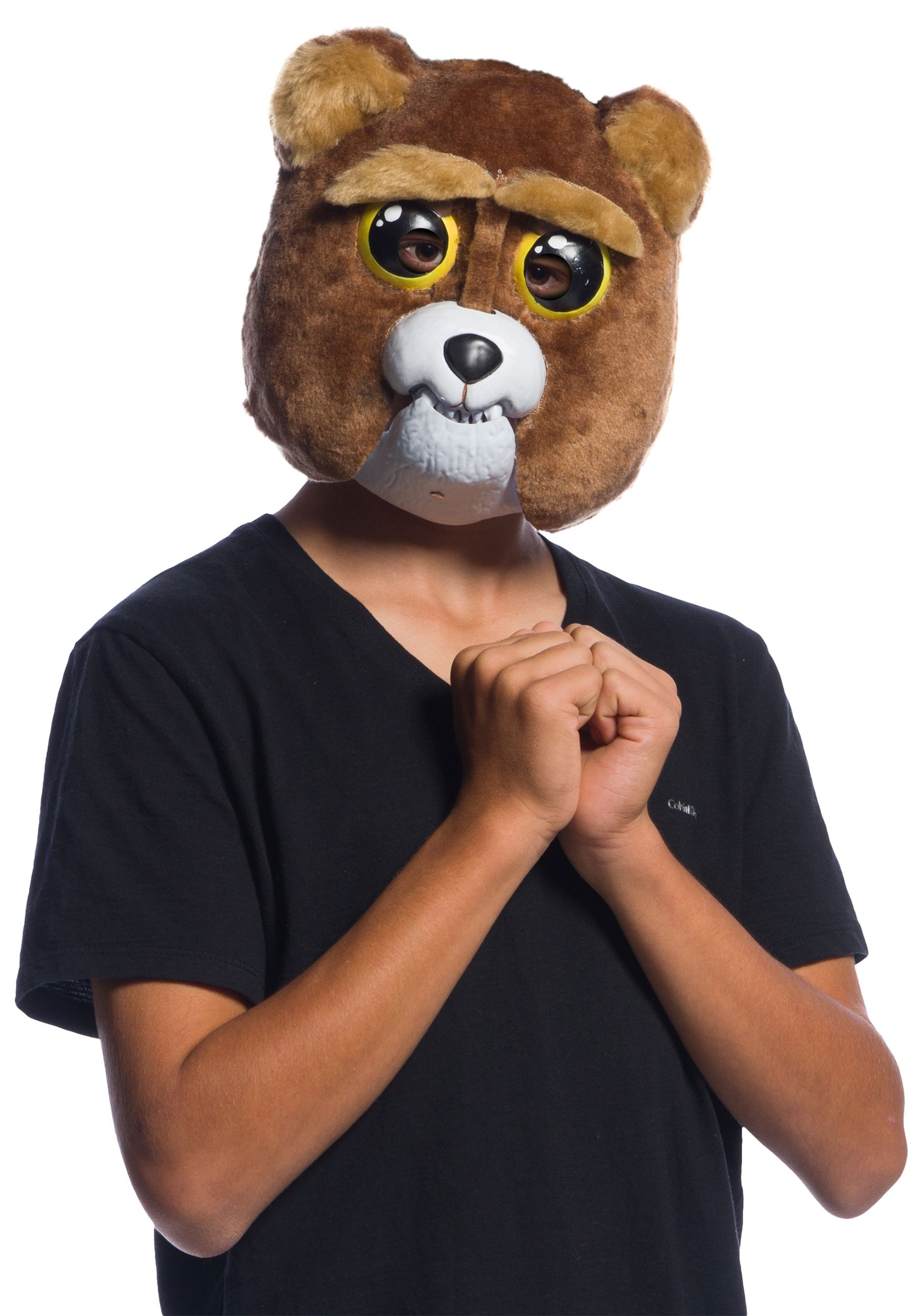 INOpets.com Anything for Pets Parents & Their Pets Child Feisty Pets Sir Growls-a-Lot Moveable Mask for Kids