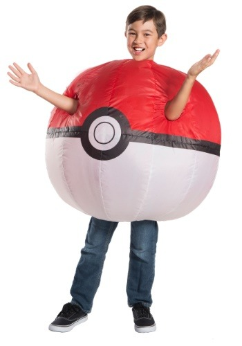 Childs Pokemon Inflatable Pokeball Costume