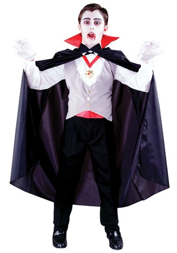 Click Here to buy Boys Classic Vampire Costume from HalloweenCostumes, CDN Funds & Shipping