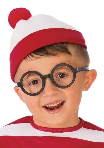 Click Here to buy Deluxe Waldo Glasses Accessory for All from HalloweenCostumes, CDN Funds & Shipping