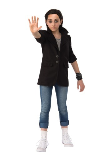 Click Here to buy Stranger Things Eleven Punk Kids Costume from HalloweenCostumes, CDN Funds & Shipping
