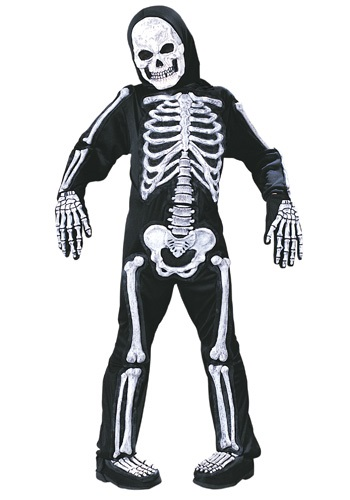 Click Here to buy Kids Skeleton Costume from HalloweenCostumes, CDN Funds & Shipping