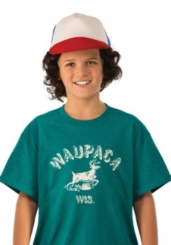 Child Stranger Things Dustin Waupaca Shirt