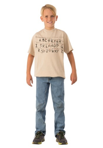 Stranger Things Alphabet Child Shirt