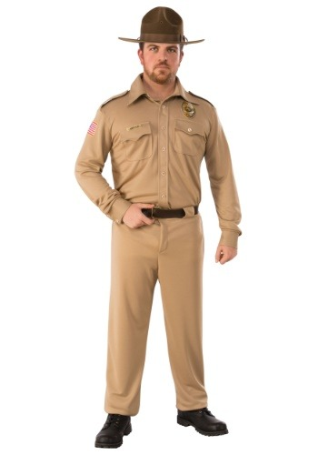 Click Here to buy Stranger Things Jim Hopper Adult Costume from HalloweenCostumes, CDN Funds & Shipping