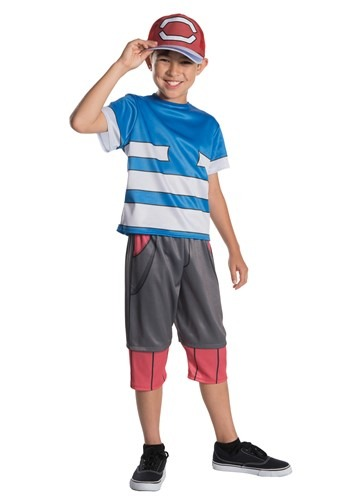 Pokemon Ash Child Size Costume