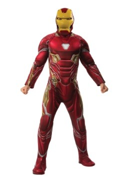 Men's Marvel Infinity War Deluxe Iron Man Costume