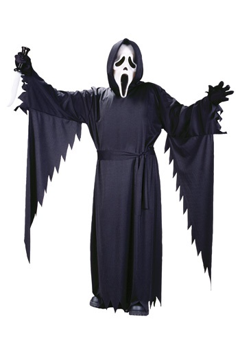 Click Here to buy Teen Ghost Face Costume | Scary Halloween Costumes from HalloweenCostumes, CDN Funds & Shipping