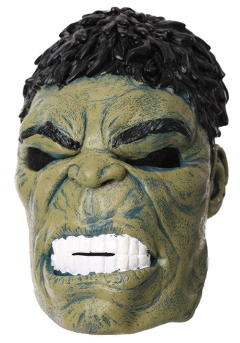 Click Here to buy Marvel Avengers Infinity War Hulk Mask for Adults from HalloweenCostumes, CDN Funds & Shipping
