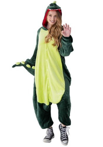 Click Here to buy Dinosaur Adult Yumio Costume from HalloweenCostumes, CDN Funds & Shipping