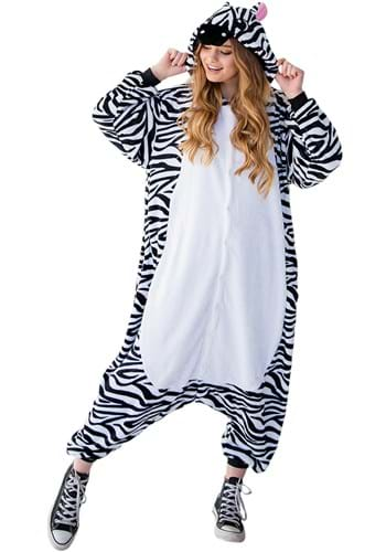 Click Here to buy Zebra Yumio Costume for Adults from HalloweenCostumes, CDN Funds & Shipping