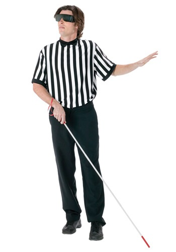 Click Here to buy Blind Referee Costume from HalloweenCostumes, CDN Funds & Shipping