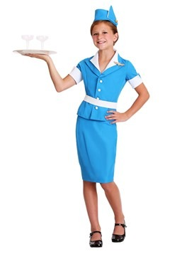 Girl Flight Crew Costume