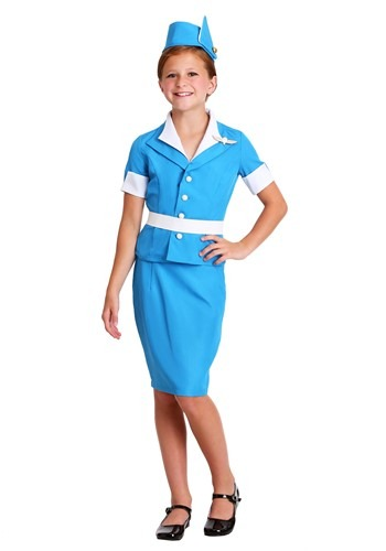 Girls Flight Crew Costume