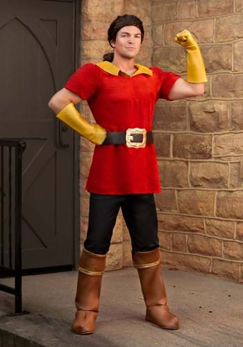 Click Here to buy Disney Beauty and the Beast Gaston Mens Costume from HalloweenCostumes, CDN Funds & Shipping