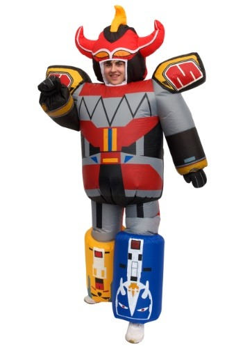 Click Here to buy Inflatable Power Rangers Megazord Costume for Adults from HalloweenCostumes, CDN Funds & Shipping