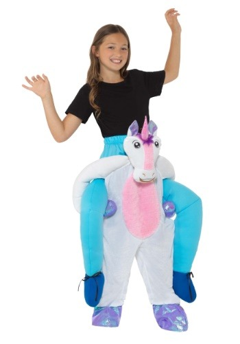 Click Here to buy Piggyback Unicorn Costume for a Kids from HalloweenCostumes, CDN Funds & Shipping