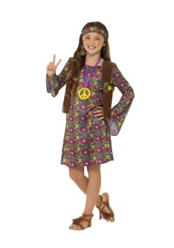 Girl's Hippie Costume