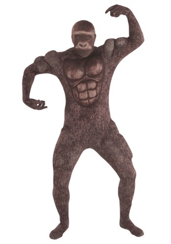 Click Here to buy Muscle Gorilla Adult Morphsuit Costume from HalloweenCostumes, CDN Funds & Shipping