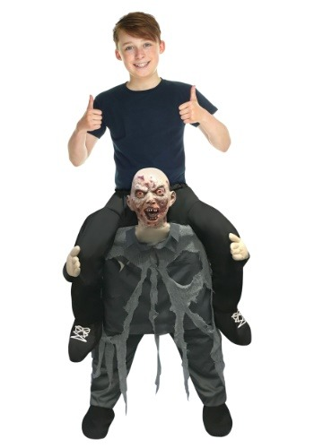 Zombie Piggyback Child Size Costume