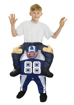 Child Football Player Piggyback Costume