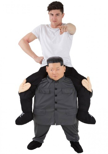 KJU Piggyback Costume for Adults