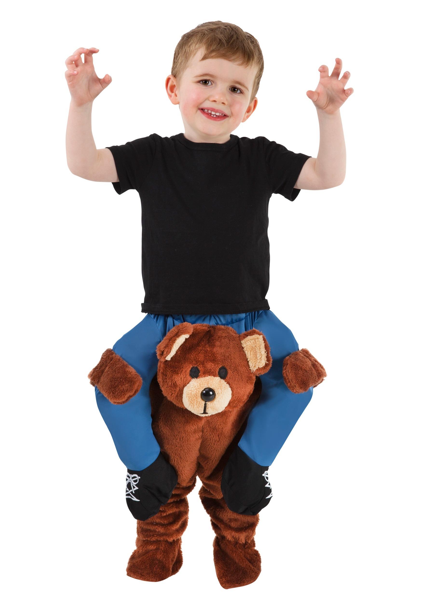 9fdcd45d9c52 Teddy Bear Piggyback Costume for a Toddler