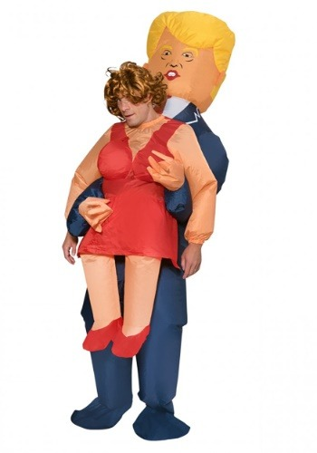 Adult Inflatable Presidential Pick Me Up Costume