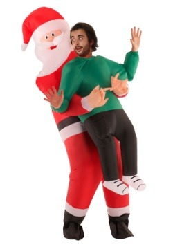 Adult Inflatable Santa Pick Me Up Costume