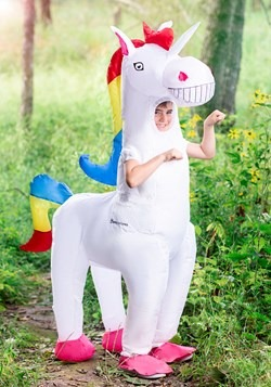 Child Giant Inflatable Unicorn Costume