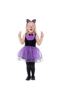 Toddler Purple Cat Costume