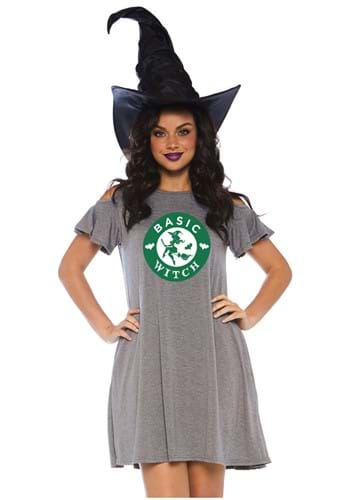 Women's Basic Witch Jersey Dress